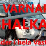 2010-10-24 Klass 1 varning gällande väglaget i U-län