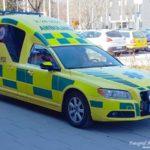 2017-05-05: Två skadade i trafikolycka på rv66