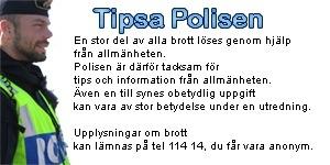Polisen behöver allmänhetens hjälp, ring 114 14