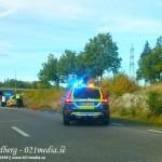 2015-10-03: Mindre trafikolycka på Surahammarsvägen
