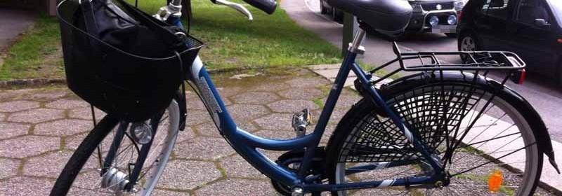 Har du sett cykeln, eller vet du vart den finns?