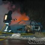 2016-01-06: Två bilbränder på 20 minuter, tre män gripna