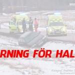 2016-01-05: Varning för halt väglag