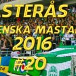 2016-03-19: VÄSTERÅS Svenska mästare i bandy