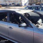 2107-03-12: Bil sattes i brand i Skultuna
