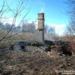 2017-04-23: Dagen efter branden i ödehuset