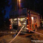 2017-04-23: Räddningstjänsten bekämpade skogsbrand i Skultuna