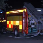 2017-12-23: Brand i restaurang på Råby