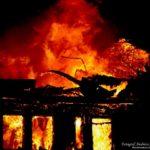 2016-03-28: Fullt utvecklad brand på skola