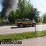 2015-07-11: Brand i husvagn