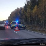 2015-10-14: Totalstopp på rv66 efter olycka