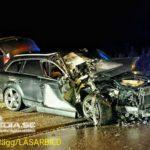 2016-12-08: Bil totalförstördes i olycka
