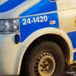 2017-01-09: 24-årig man till sjukhus efter avåkning på Skultunavägen