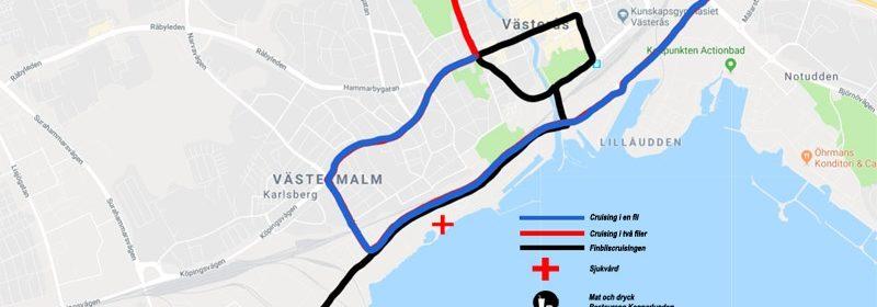 Cruisingsträckan Västerås Summer Meet 2019